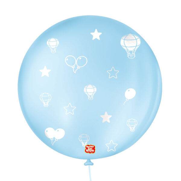 Azul Baby - Branco lado 2