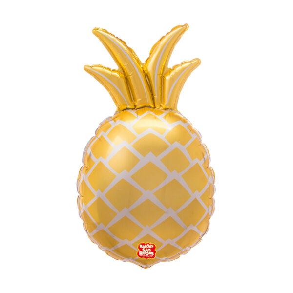 3D - Abacaxi Dourado