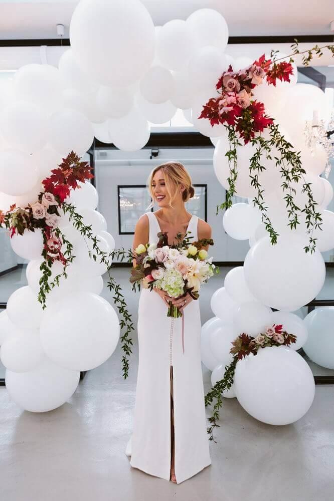 Decorações de festa para casamento: na entrada da cerimônia