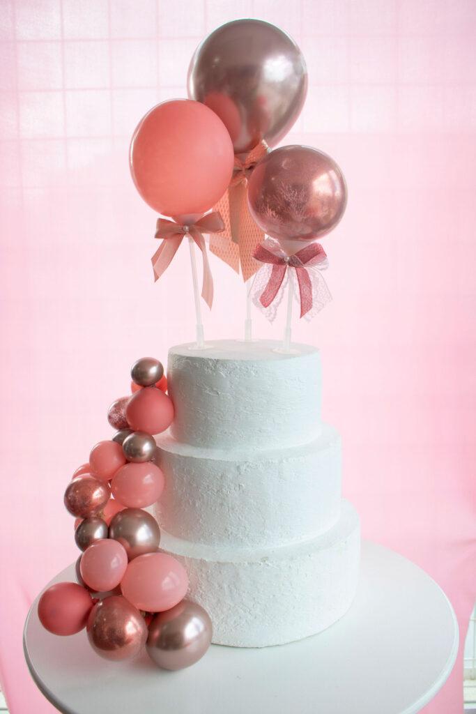 Decorações de festa para casamento: topo de bolo