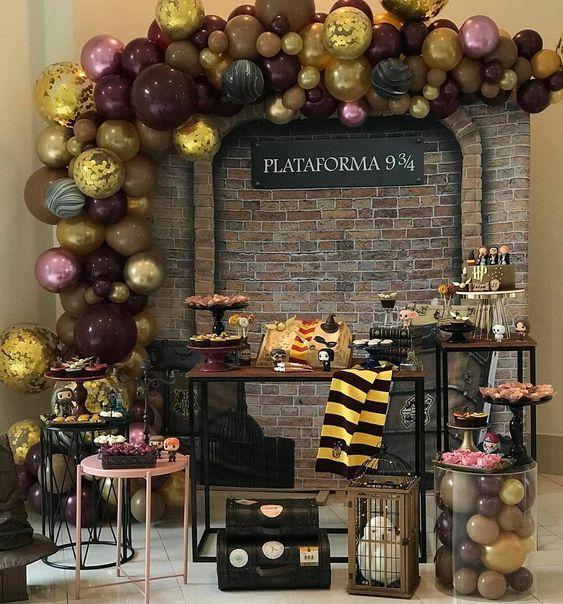 Decoração de aniversário para homens: Harry Potter